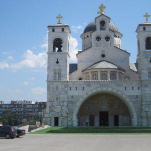 Fachada, Catedral De Podgorica