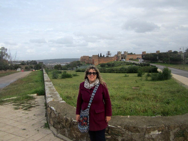 Murallas De La Necrópolis De Chellah