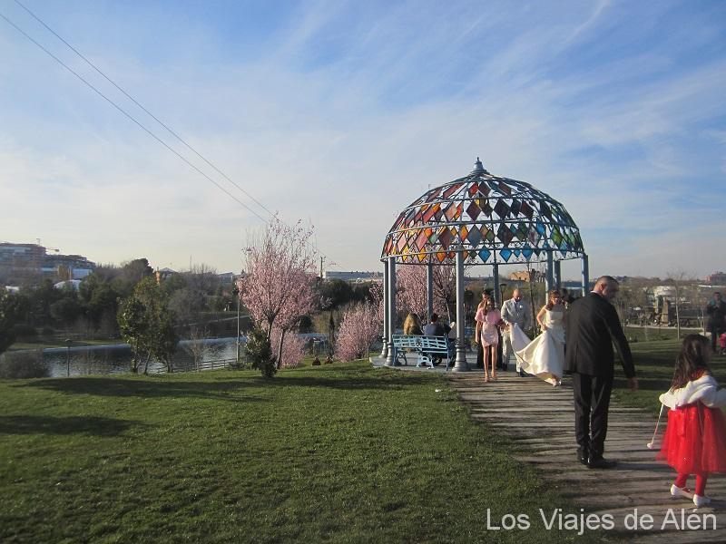 boda en el Parque Europa de Torrejón