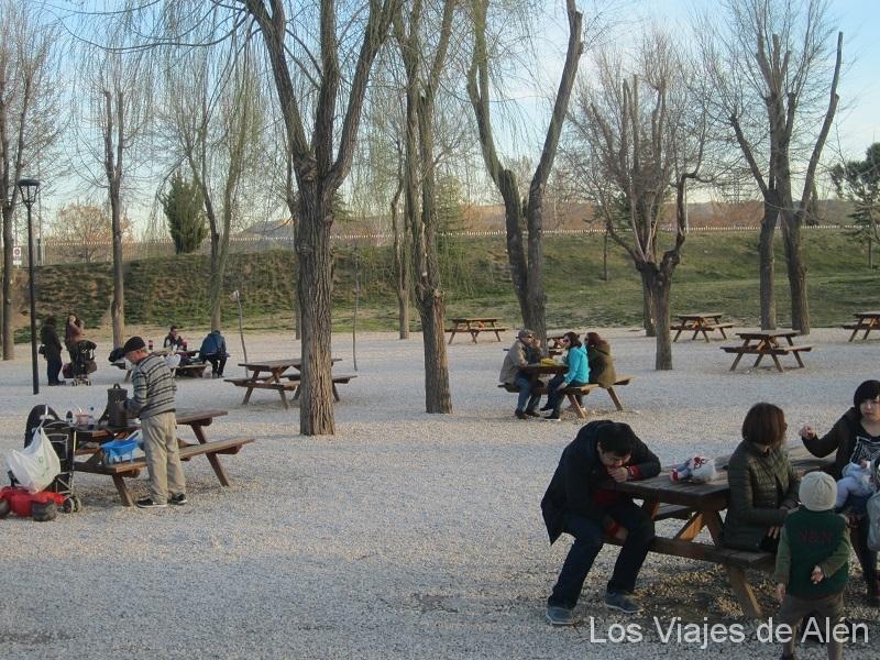 Parque Europa zona de Picnic
