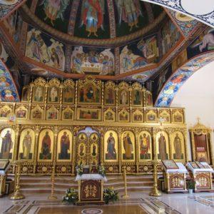Interior Del Templo Ortodoxo De Altea