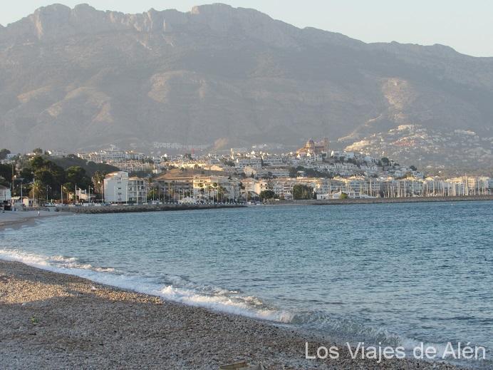 Vista De Altea Desde La Playa De L'Albir