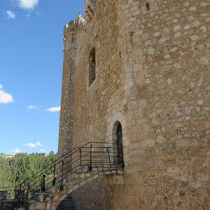 Escalera De Entrada A La Torre Del Homenaje, Alcalá Del Júcar