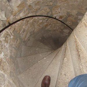 Escalera De Caracol, Castillo De Alcalá Del Júcar