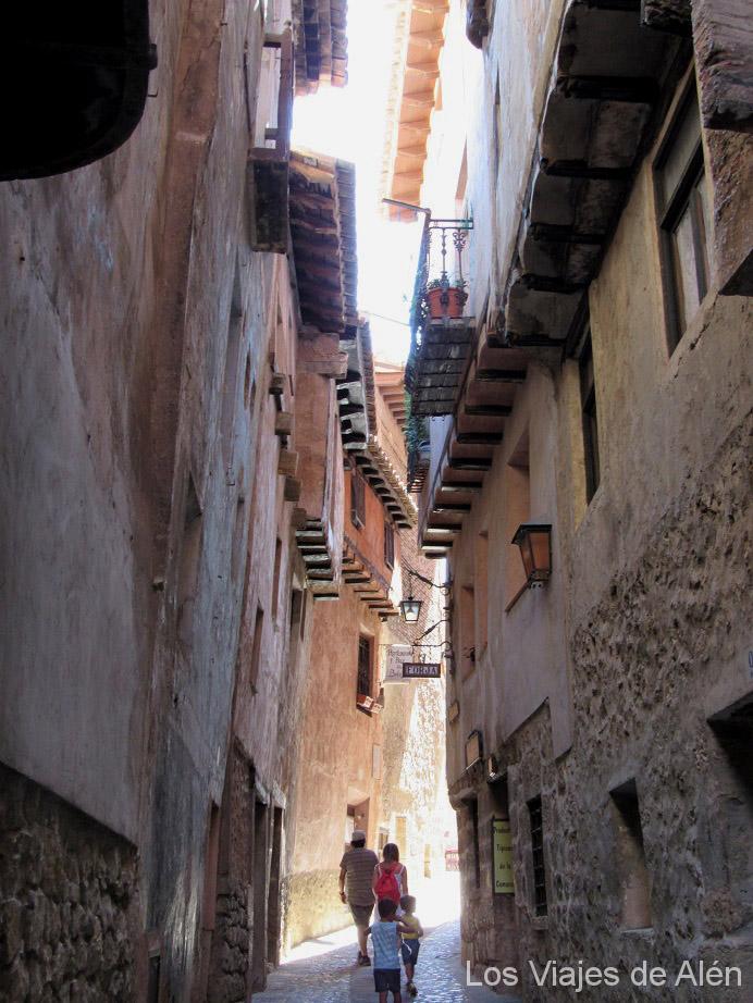 Calle Azagra Albarracín