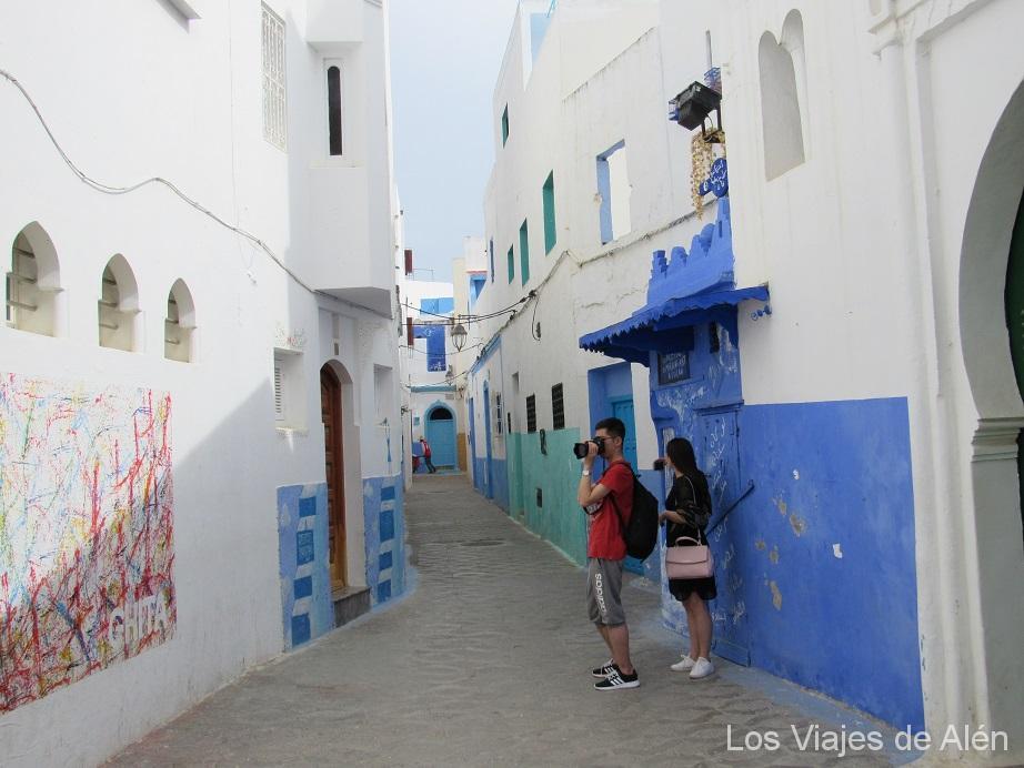 pintoresca calle de la Medina de Asilah