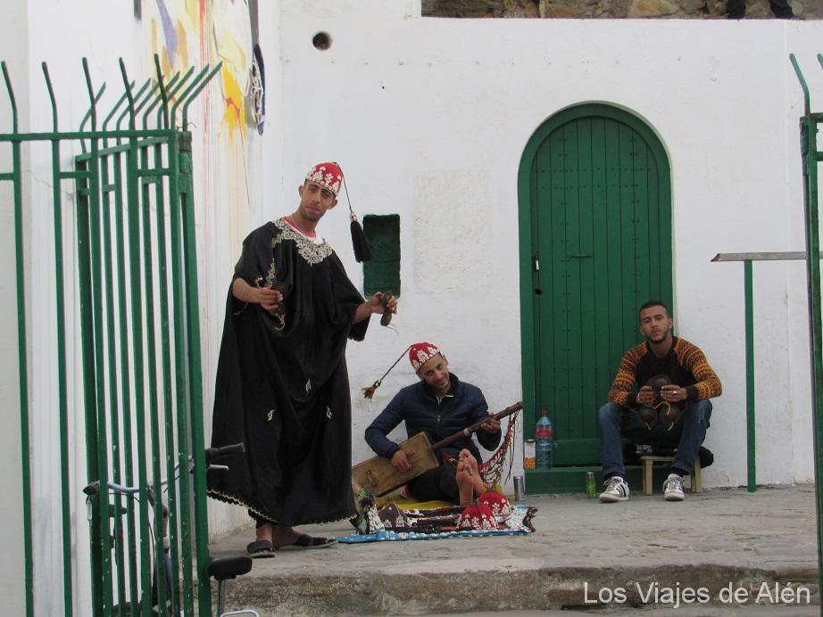 danzas bereberes en Asilah