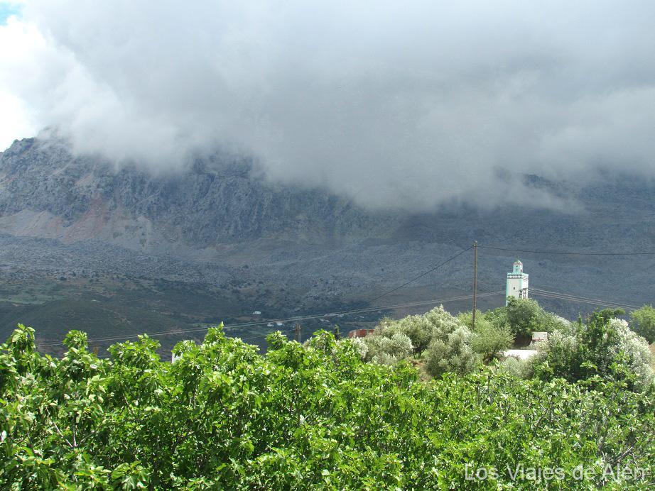 Paisaje del Rif,(Norte de Marruecos)