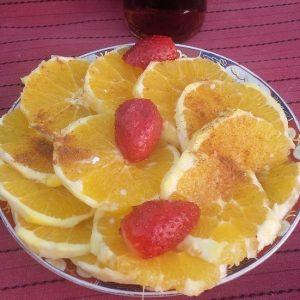 Naranja Con Canela