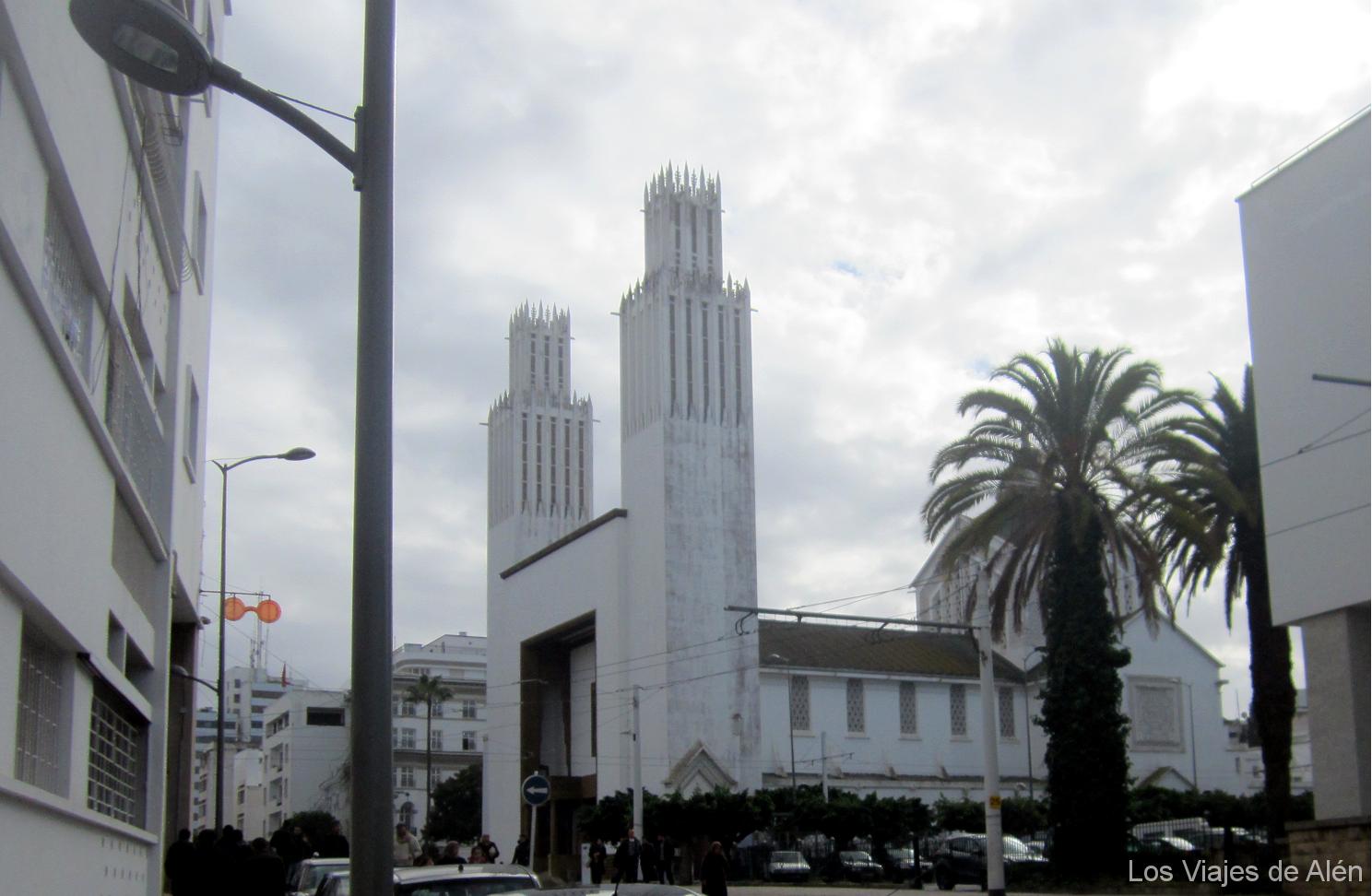 Catedral Cristiana De Rabat Estilo Art Decó