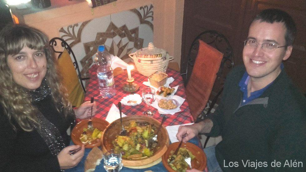 cena nochevieja en Meknes