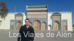 fachada palacio real de Fez