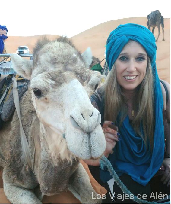 Ana Belén En El Desierto De Marruecos