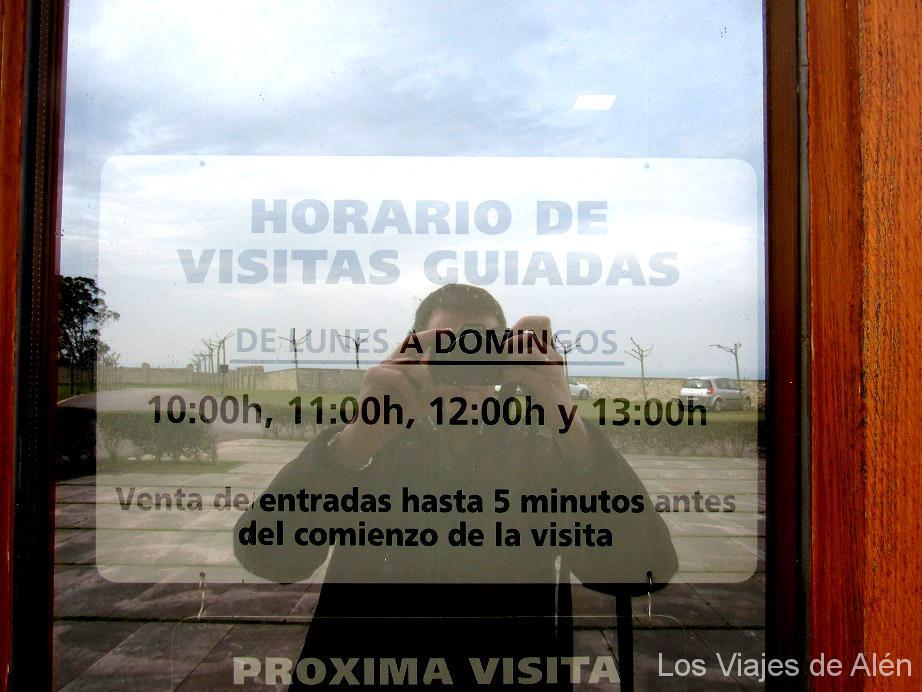 horarios visitas guiadas Universidad de Comillas