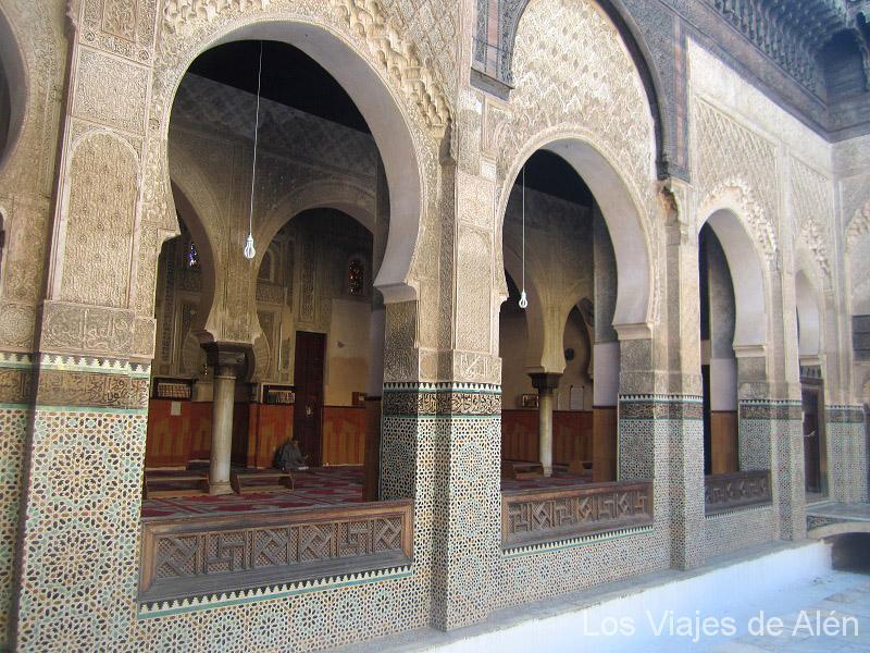 Bellos Arcos De Herradura De La Madrasa