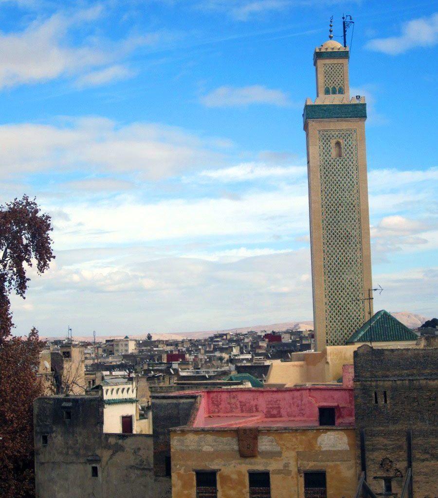 Minarete Medina De Fez