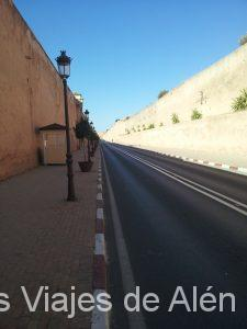 Calle entre murallas, Meknes