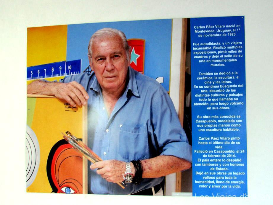 Paez Vilaró artista Uruguayo de Casapueblo
