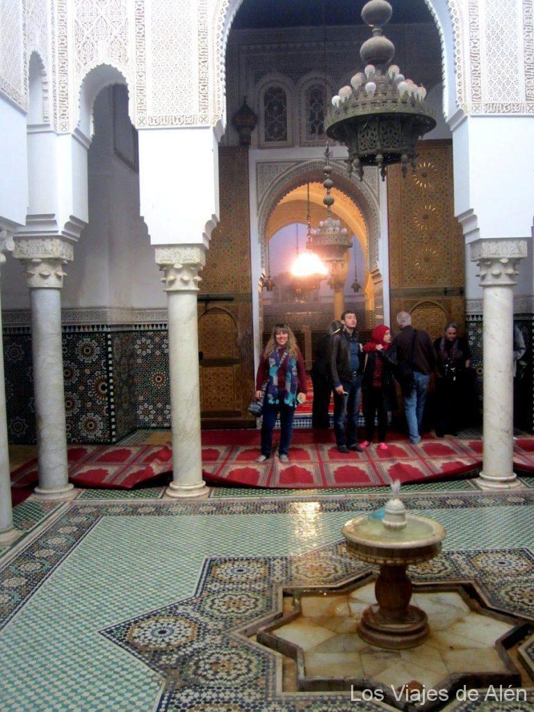 patio mausoleo Mulay Ismail