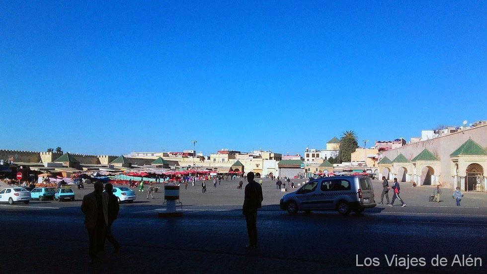 Plaza Hedim en Meknes