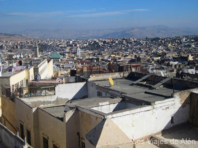 vista de la medina de Fez